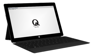 QA Assistant Studio™ Tablet on Microsoft Surface 2