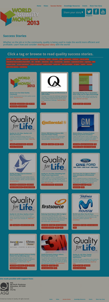 QA Assistant featured on ASQ Quality Month Website
