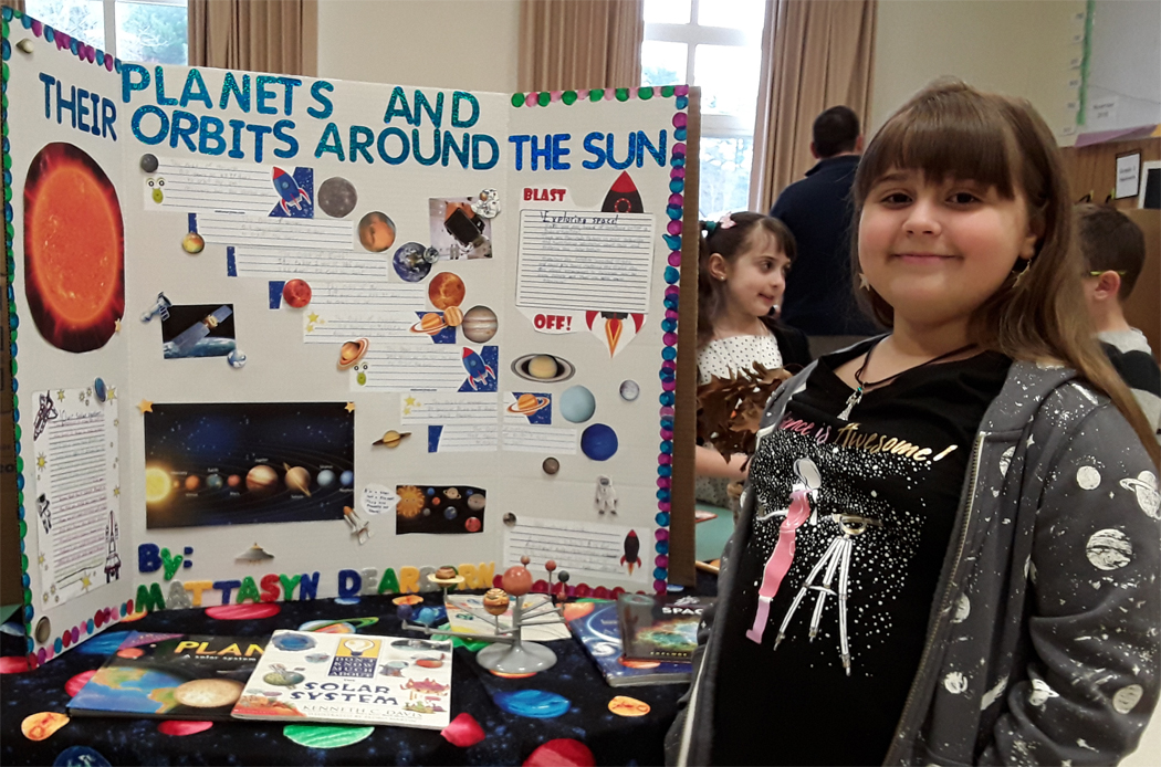 QA Assistant Sponsors SES Science Fair 2019 - Planets and Their Orbits